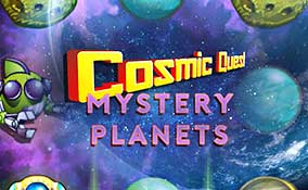 Cosmic Quest: Mystery planets spelautomater Rival  wyrmspel.com