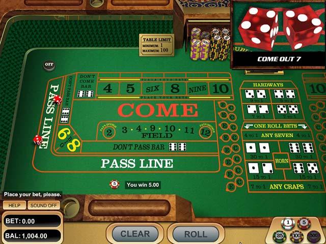 Craps, Rival Gaming SS - Wyrmspel.com