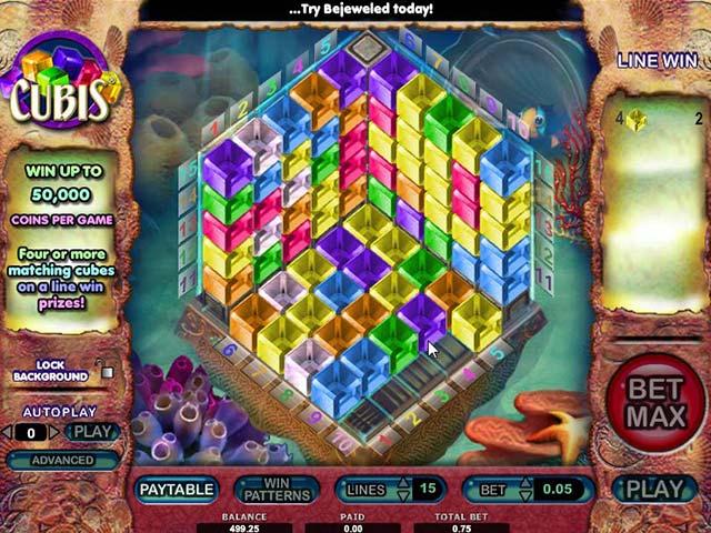Spelautomater Cubis, Cryptologic SS - Wyrmspel.com