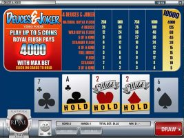 Videopoker Deuces and Joker, Rival Gaming SS - Wyrmspel.com