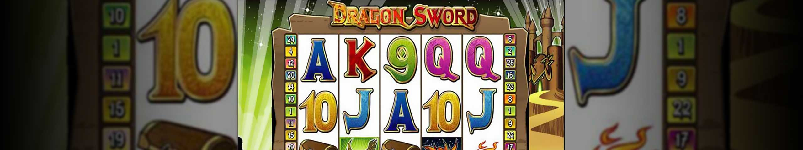 Spelautomater Dragon Sword, Cryptologic Slider - Wyrmspel.com