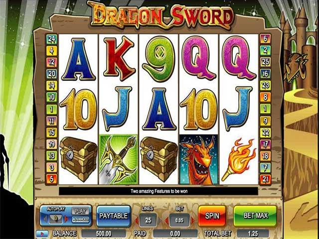 Spelautomater Dragon Sword, Cryptologic SS - Wyrmspel.com