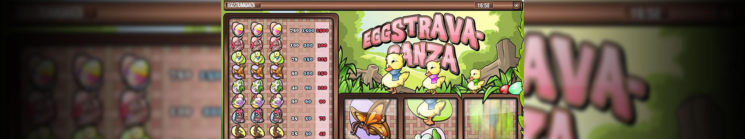 Spelautomater Eggstravaganza, Rival Slider - Wyrmspel.com