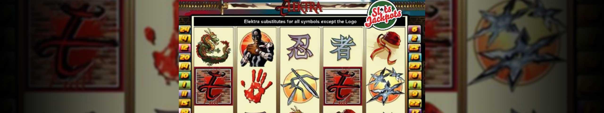 Spelautomater Elektra, Cryptologic Slider - Wyrmspel.com