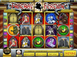 Spelautomater Fantasy Fortune, Rival Gaming SS - Wyrmspel.com