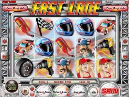 Spelautomater Fast Lane, Rival Gaming SS - Wyrmspel.com
