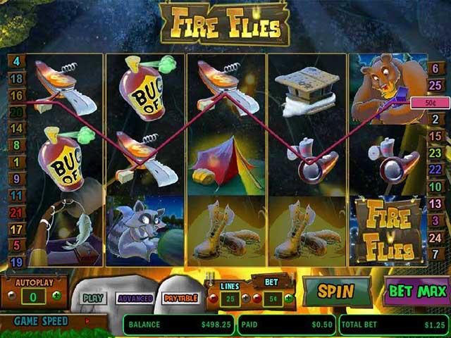 Spelautomater Fire Flies, Cryptologic SS - Wyrmspel.com