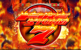 Spelautomater Fire Storm 7, Rival Gaming Thumbnail - Wyrmspel.com