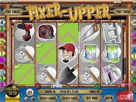 Spelautomater Fixer Upper, Rival Gaming SS - Wyrmspel.com