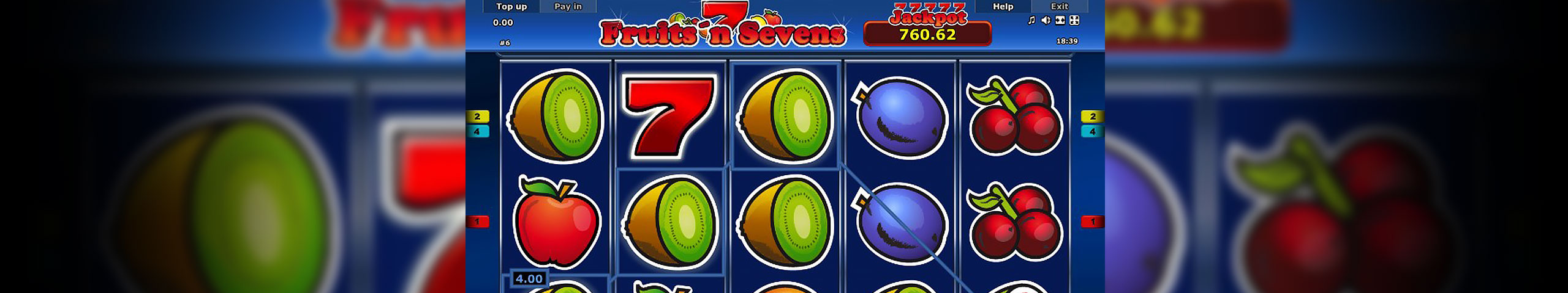 Fruits n Sevens™ Slot spel spela gratis i Novomatic Online Casinon