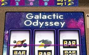 Galactic Odyssey spelautomater Cryptologic  wyrmspel.com