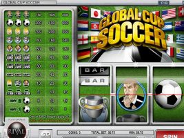 Spelautomater Global Cup Soccer, Rival Gaming SS - Wyrmspel.com