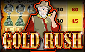 Gold Rush spelautomater Rival  wyrmspel.com