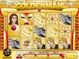 Spelautomater Golden Man, Rival Gaming SS - Wyrmspel.com