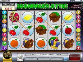 Spelautomater Grandma's Attic, Rival Gaming SS - Wyrmspel.com