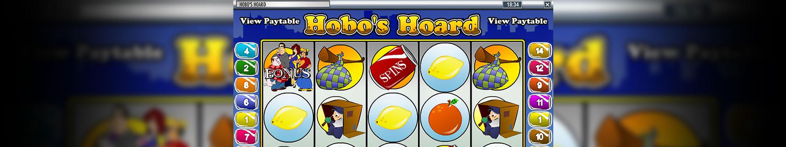 Spelautomater Hobo's Hoard, Rival Gaming Slider - Wyrmspel.com