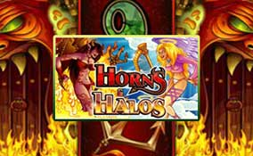 Spelautomater Horns and Halos, Cryptologic Thumbnail - Wyrmspel.com