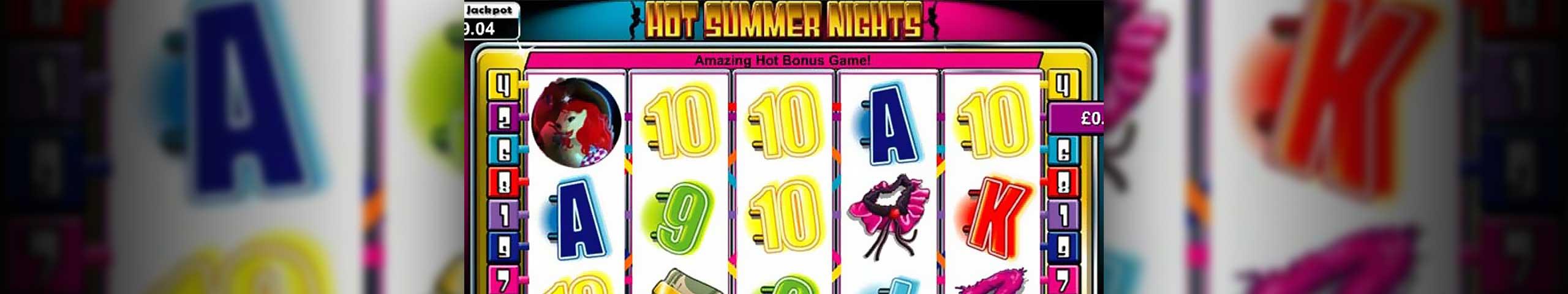 Spelautomater Hot Summer Nights, Cryptologic Slider - Wyrmspel.com