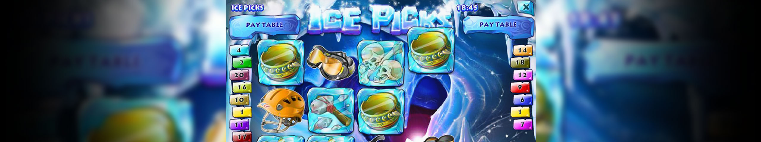 Spelautomater Ice Picks, Rival Gaming Slider - Wyrmspel.com