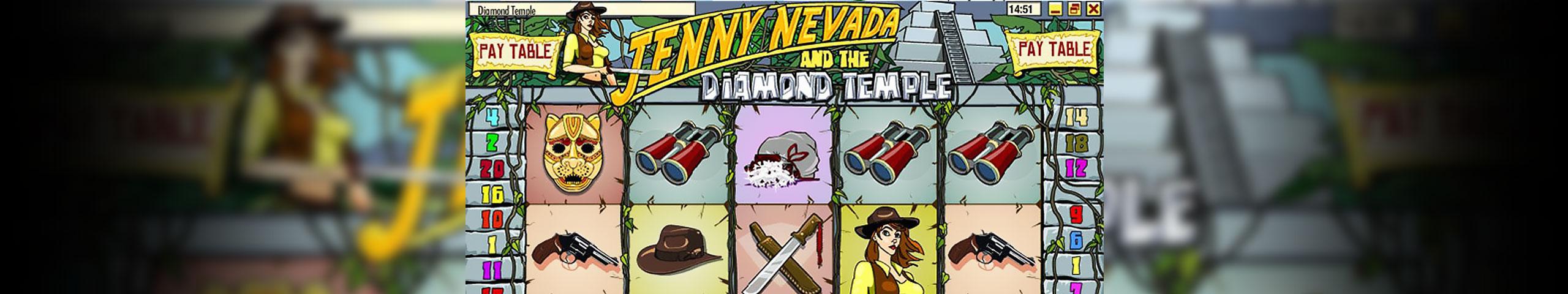 Spelautomater Jenny Nevada, Rival Gaming Slider - Wyrmspel.com