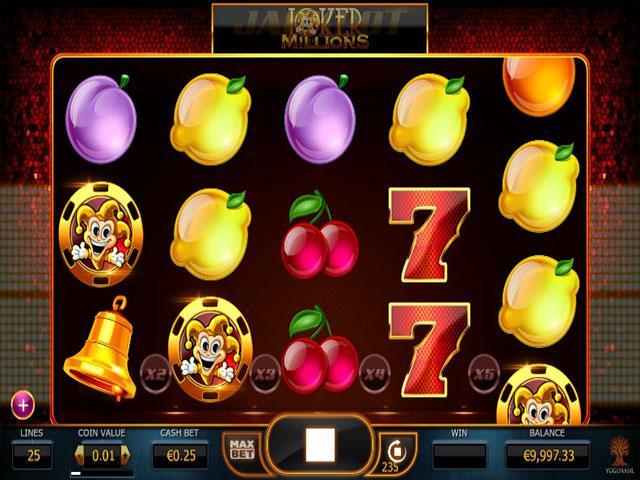 Spelautomater Joker Millions, Yggdrasil Gaming SS - Wyrmspel.com