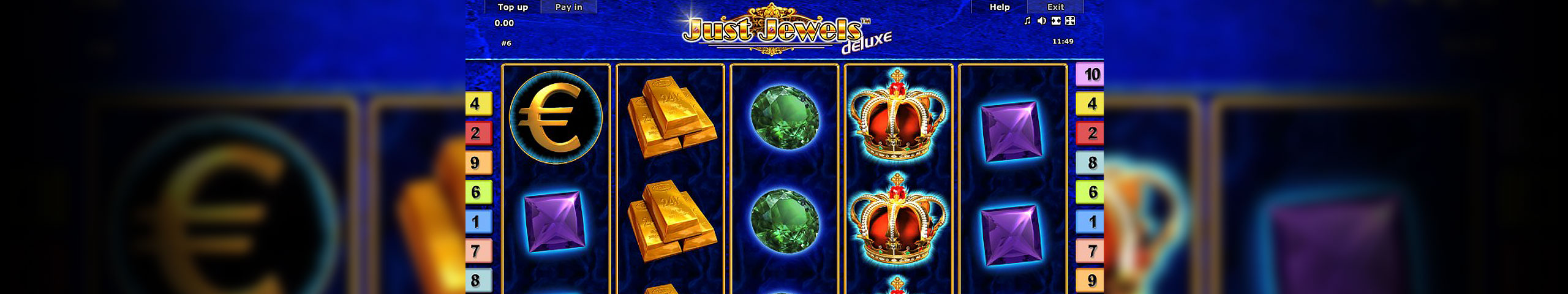 Just Jewels Deluxe Slot – Ett gratis Novomatic Slotspel online