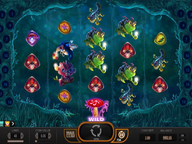Spelautomater Magic Mushrooms, Yggdrasil Gaming SS - Wyrmspel.com