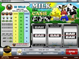 Spelautomater Milk the Cash Cow, Rival Gaming SS - Wyrmspel.com
