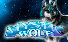 Mystic Wolf spelautomater Rival  wyrmspel.com