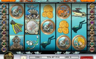 Spelautomater Ocean Treasure, Rival Gaming SS - Wyrmspel.com