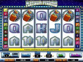 Spelautomater Platinum Pyramid, Cryptologic SS - Wyrmspel.com