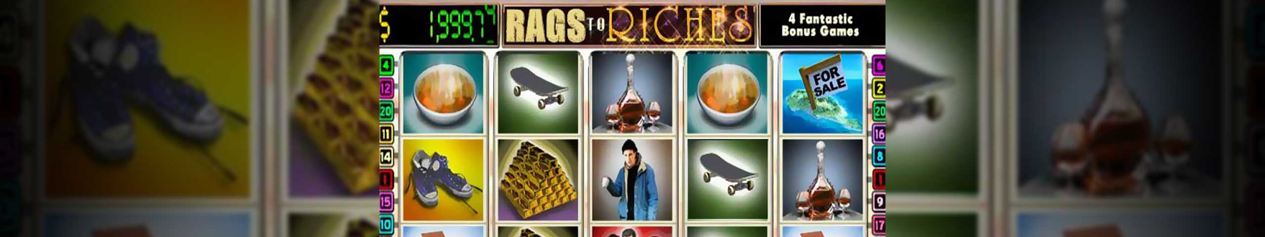 Rags to Riches 20 lines