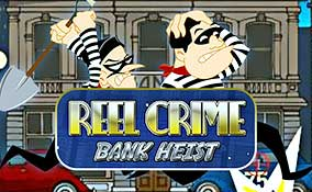 Reel Crime: Bank Heist spelautomater Rival  wyrmspel.com