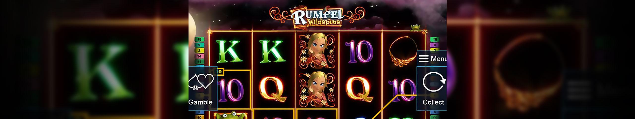 Spelautomater Rumpel Wildspins, Novomatic Slider - Wyrmspel.com