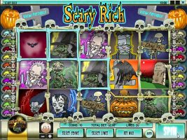 Spelautomater Scary Rich, Rival Gaming SS - Wyrmspel.com