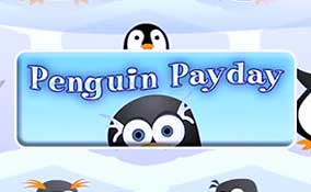 Penguin Payday spelautomater Rival  wyrmspel.com