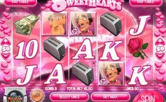 Spelautomater Swinging Sweethearts, Rival Gaming SS - Wyrmspel.com