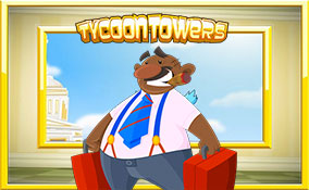 Tycoon Towers spelautomater Rival  wyrmspel.com