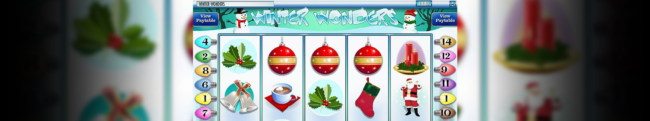 Spelautomater Winter Wonders, Rival Gaming Slider - Wyrmspel.com