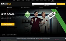 Screen by casino Betway