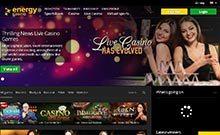 Energy kasino översyn skärmdump på  wyrmspel.com 4