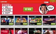 Ladbrokes kasino översyn skärmdump på  wyrmspel.com 4
