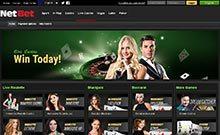 Screen by casino NetBet