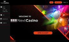 Screen by casino NextCasino