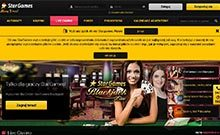 Screen by casino Star Games