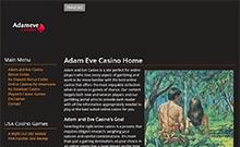 Screen by casino Adameve