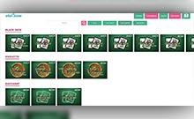 ahaCasino kasino översyn skärmdump på  wyrmspel.com 4
