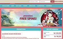 Anna kasino översyn skärmdump på  wyrmspel.com 2