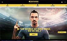Bethard kasino översyn skärmdump på  wyrmspel.com 3
