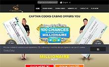 Captain Cooks kasino översyn skärmdump på  wyrmspel.com 1